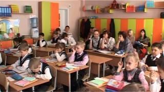 Урок русского языка, апрель 2014, 1 класс
