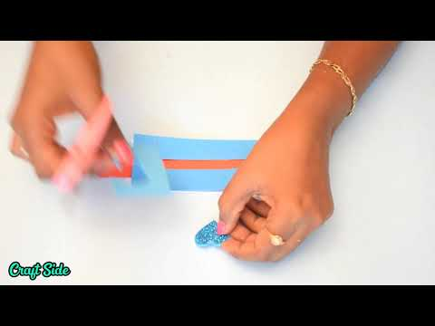 HOW TO MAKE  A BEAUTIFUL LOVE CARD | DIY PAPER CRAFTS | CRAFT SIDE