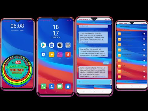 Full Download] Theme Oppo Color Os F9 Tembus Akar For F5 F7 F9