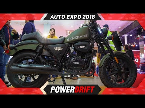 Renegade Duty S: UM readies Bajaj Avenger rival @ Auto Expo 2018 : PowerDrift