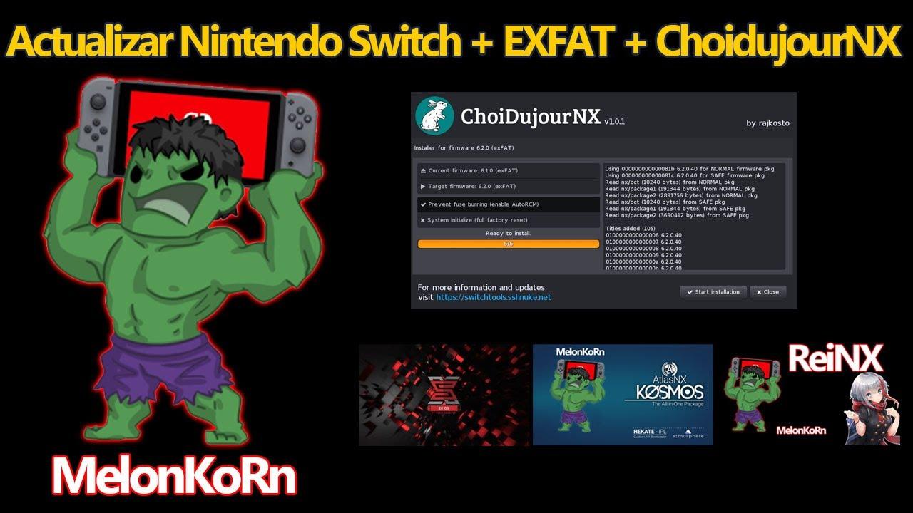 Switch Exfat Update Offline