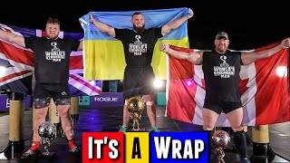 The World's Strongest Man 2020 FINAL Recap and Review