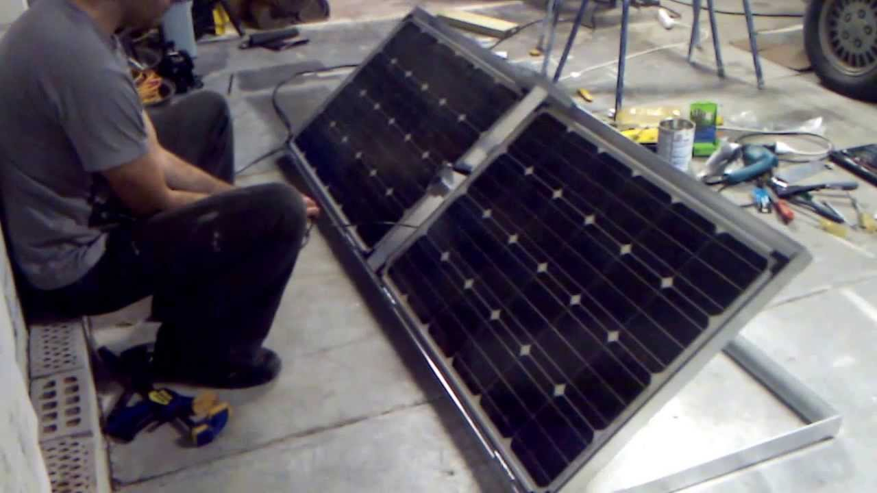 Solar Panels With Linear Actuator