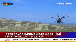 Azerbaycan - Ermenistan Sınırında Çatışma