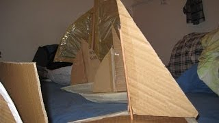 How To Build A Cardboard Boat