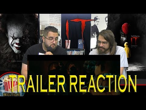 ReelTime Reaction: IT Official Trailer #1
