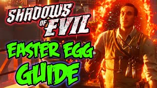 """SHADOWS OF EVIL"" EASTER EGG TUTORIAL & ENDING - FULL EASTER EGG GUIDE! (Black Ops 3 Zombies)"