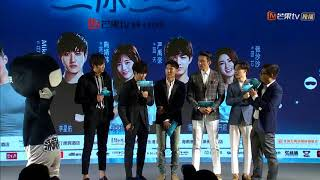 Download lagu [Eng Sub] Mr. Swimmer Press Conference in China