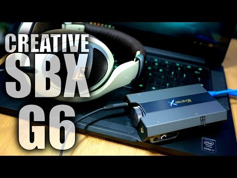 Sound BlasterX G6 Review: HUGE Sound for PC and Console Gamers