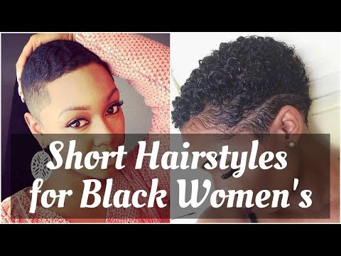 Fresh Short Natural Hairstyles for Black Women 2018