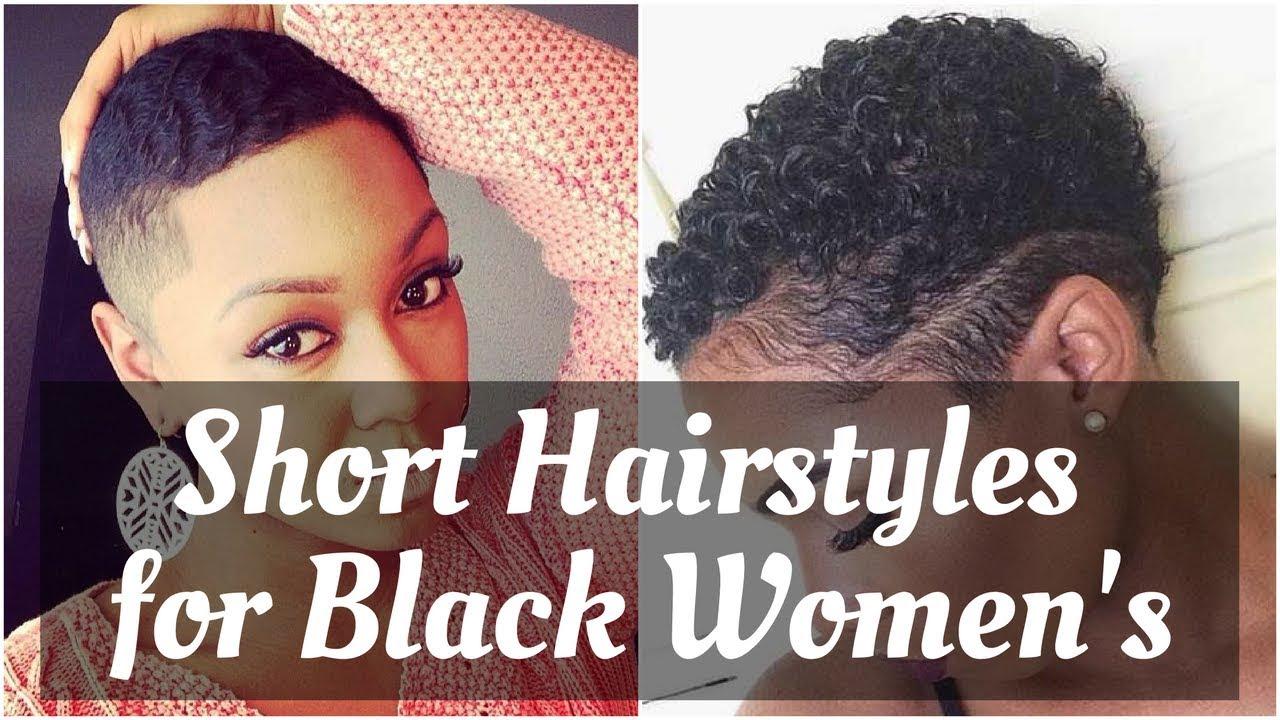 fresh short natural hairstyles for black women 2018