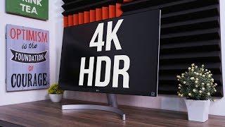 Monitor 4K HDR Andalanku Buat NGEDIT VIDEO YOUTUBE! LG 27UK600-W
