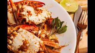 Crab Masala curry / How to cook crab masala andhra style