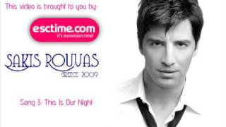 Greece: Sakis Rouvas - This Is Our Night (Winner)