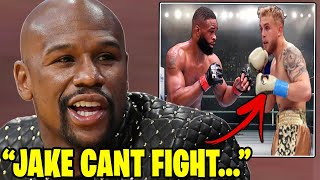 Floyd Mayweather Reacts To Jake Paul VS Tyron Woodley Fight