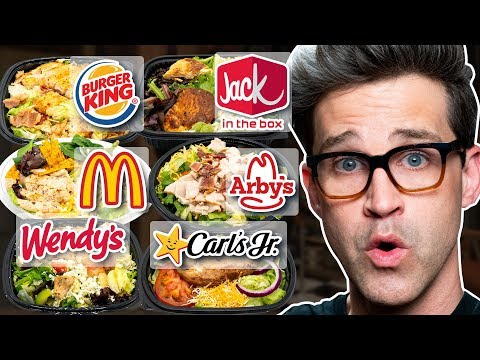 Fast Food Salad Taste Test