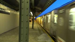 NYC Subway: Not In Service R142A At Westchester Square-East Tremont Avenue