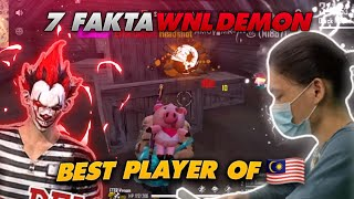 7 Fakta WNL @DEMON  KING OF HEADSHOT FROM 🇲🇾