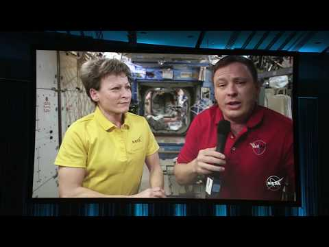 SMPTE 2017: Engineering a Live UHD Program from the International Space Station