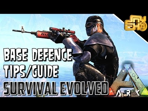 10 TIPS FOR BASE DEFENCE on ARK PVP OFFICIAL SERVERS (BASE DEFENCE GUIDE)