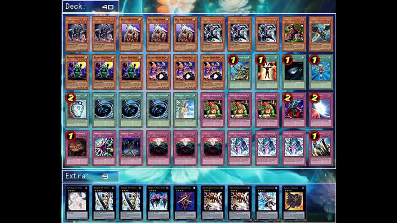 yu gi oh deck testing ninja simorgh youtube