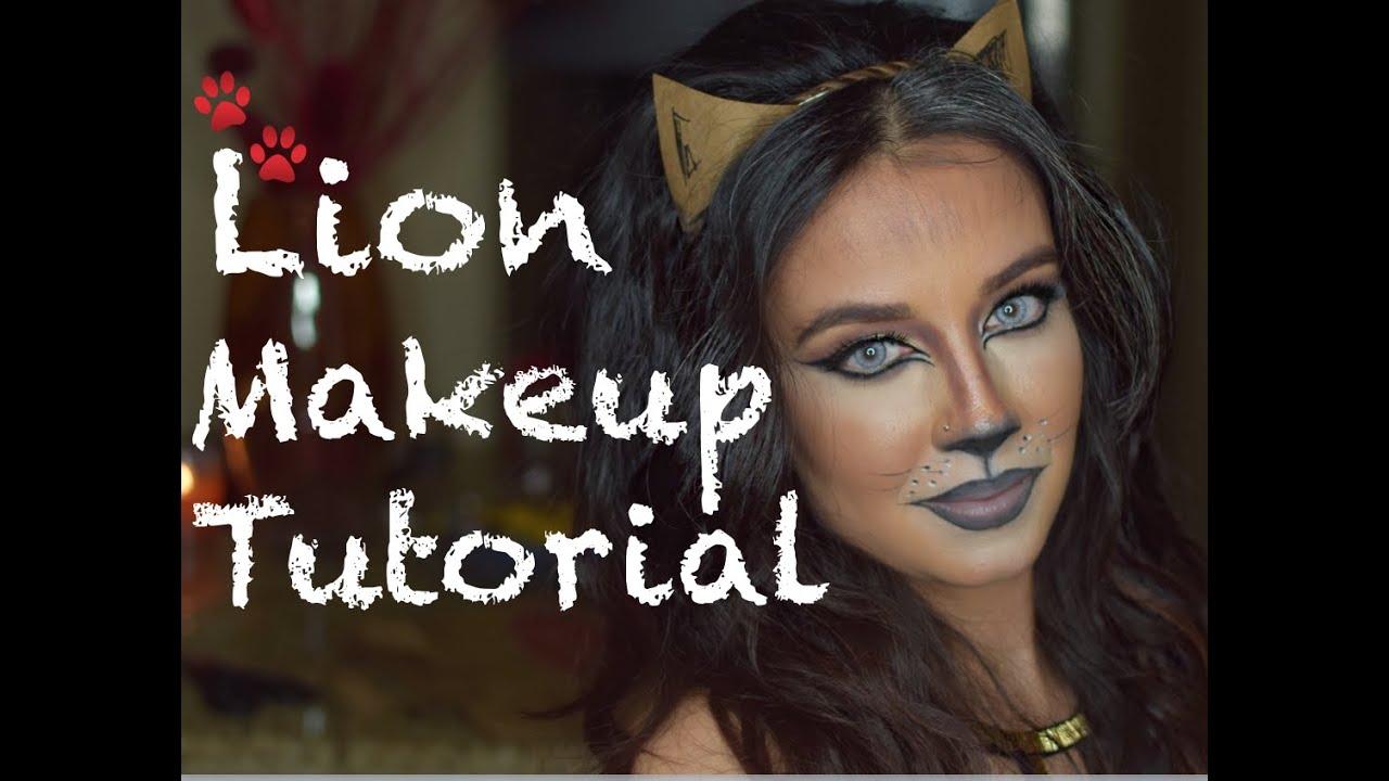 Lion Makeup Tutorial - YouTube