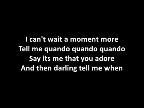Michael Buble feat. Nelly Furtado - Quando Quando Quando (lyrics on screen)