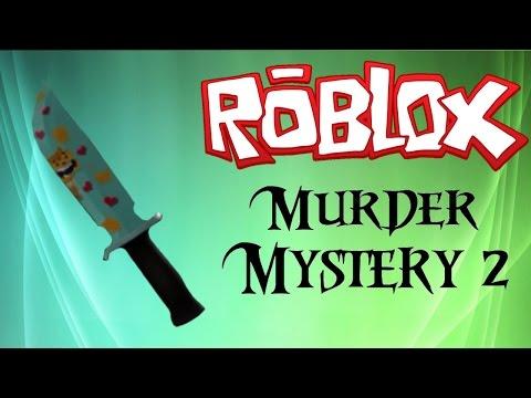ROBLOX - Murder Mystery 2 - 5 FREEEE KNIFE CODES!!!