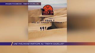 Yvelines | Une Yvelinoise participe au Trek'in Gazelles