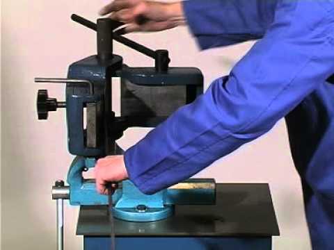 BARREL HOOP LOCKING RING FORMING MACHINE