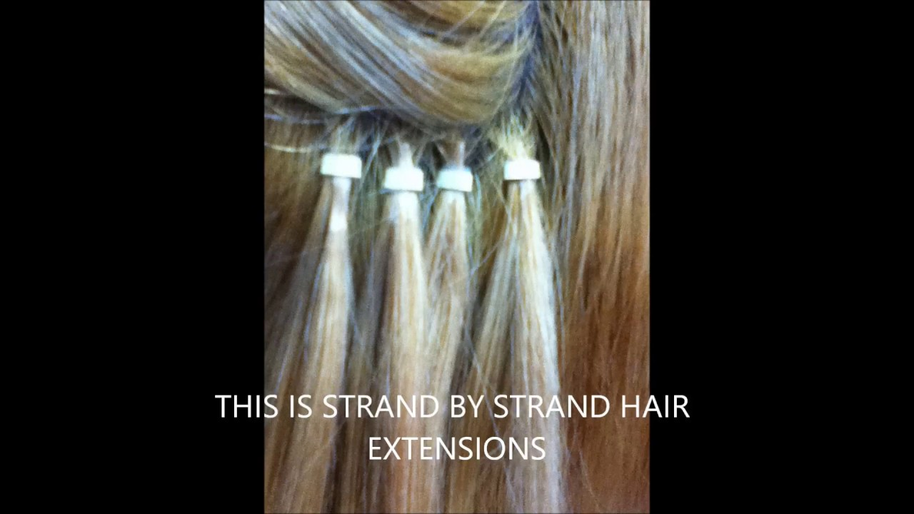 Yolanda Before And After Strand By Strand Hair Extensions Youtube