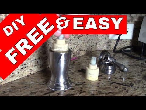 FIX Low Pressure Faucet-- Price Pfister FREE Cartridge Change/Repair
