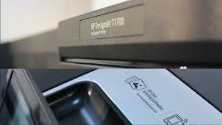 HP DesignJet T1700. Розпакування і перше знайомство.