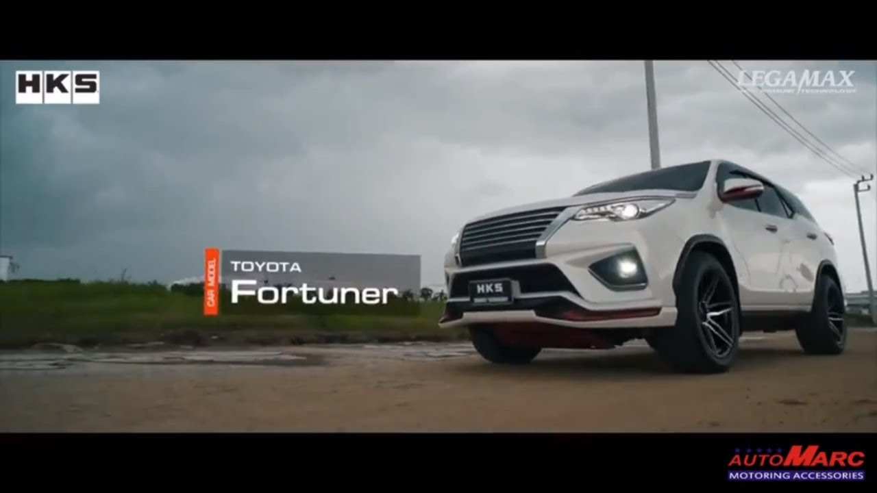 FORTUNER HKS LEGAMAX EXHAUST by AUTOMARC - INDIA