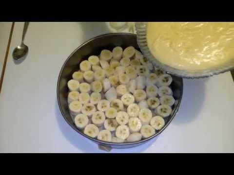 Банановый пирог.