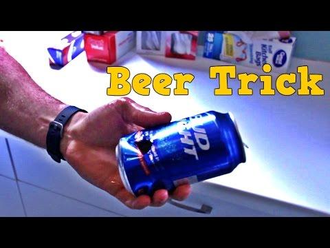 Amazing Thumb Gun a Beer Trick