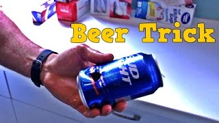 Amazing Thumb Gun a Beer Trick