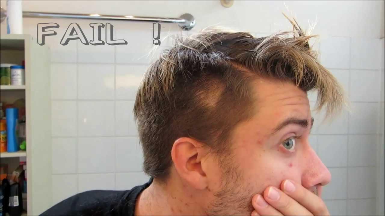 Glatze?!? DAS EXPERIMENT Haare SELBER Schneiden YouTube