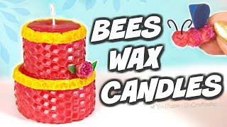 BEESWAX CANDLES?! DIY Candle Making Kit Tested