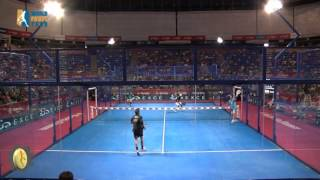 La defensa de Bela y Pablo Lima, World Padel Tour 2013