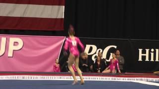 Emily Holmes-Hackerd – Floor Exercise – 2015 Nastia Liukin Cup