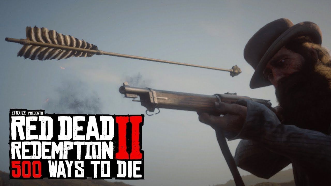 500 Ways To Die in Red Dead Redemption 2 (PART 1) thumbnail
