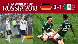 GERMANY 0-1 MEXICO - ALL HAIL KING LOZANO! thumbnail
