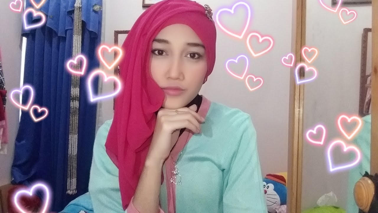 Tutorial Hijab Pashmina Hijab Pesta Simple YouTube