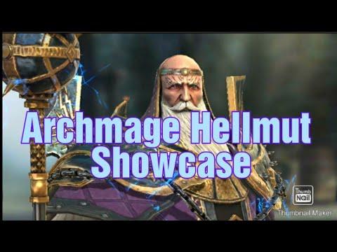 Archmage Hellmut Showcase   RAID Shadow Legends