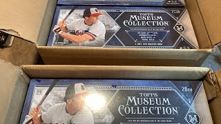DOUBLE CASE BREAK!  2019 TOPPS MUSEUM COLLECTION!