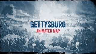 Gettysburg: Animated Battle Map