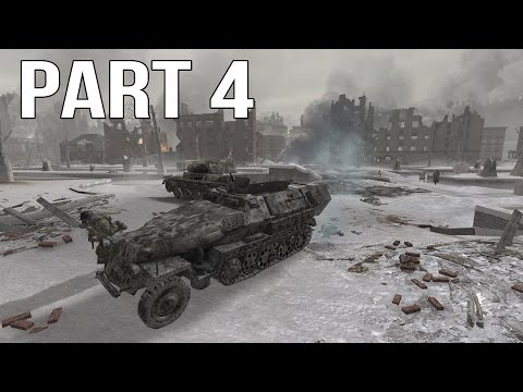 Call Of Duty 2 Gameplay Walkthrough Part 4 - Russian Campaign - Stalingrad