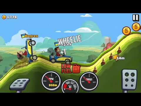 Игры на телефоне Hill Climb Racing 2 No 1