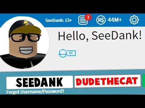 free roblox accounts dantdm